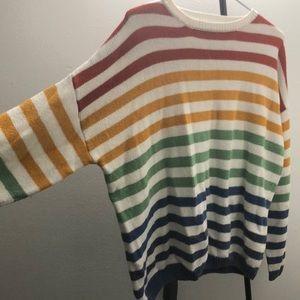 🌈Striped sweater